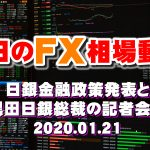 日銀金融政策発表と黒田日銀総裁の記者会見